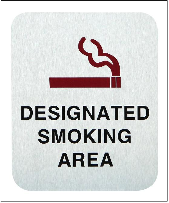 Designated Smoking Areas
